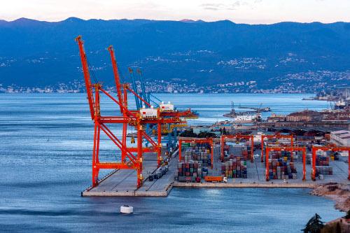 Luka Rijeka - kontejnerski terminal